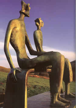 Henry Moore's King and Queen